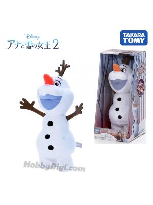 Takara Tomy Disney Plush - 魔雪奇緣2 Walk and Talk Olaf (English ver.)