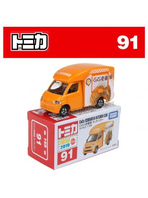 [2019新車貼] Tomica 合金車 No91 - CoCo Ichibanya Kitchen Car