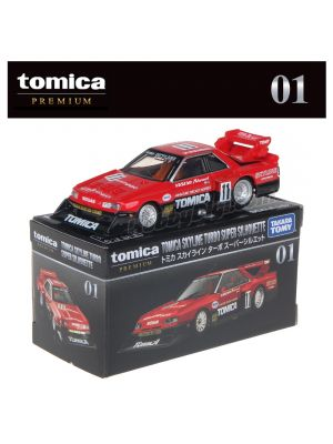 Tomica Premium 系列合金車 No01 - Tomica Skyline Turbo