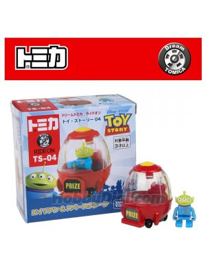 Dream Tomica 系列合金車 TS-04 - Toy Story 4 Alien & Space Crane