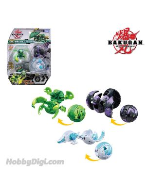 Takara Tomy Bakugan Battle Planet Baku033 Ball - Starter Pack Set 3 Balls Vol. 3