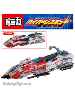 Tomica Hyper Rescue Diecast Model Car - No.1 & 2 DX SET