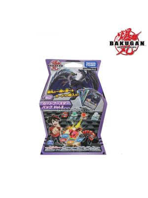 Takara Tomy Bakugan Battle Planet Baku037 - Card Game Card Pack 3