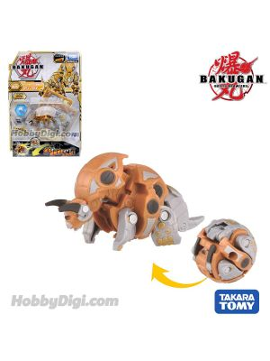 Takara Tomy Bakugan Battle Planet Baku043 Ball - Trhyno Gold DX