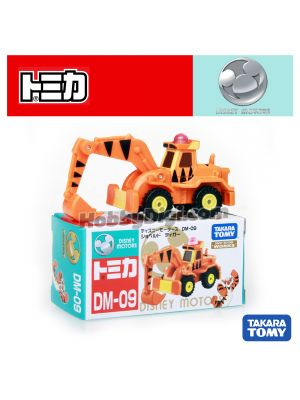 Tomica Disney Motors系列合金車 - DM-09 Shoveled Tiger