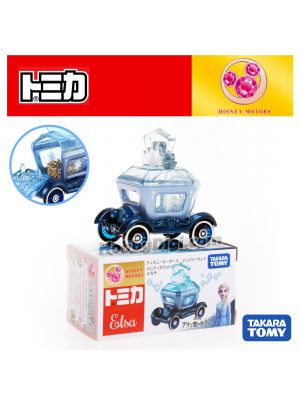 Tomica Disney Motors Diecast Model Car - Jewelry Way Vanity Carat Elsa