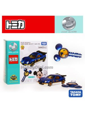 Tomica Disney Motors Diecast Model Car - Route 717 Gittie-X Mickey Ket Set