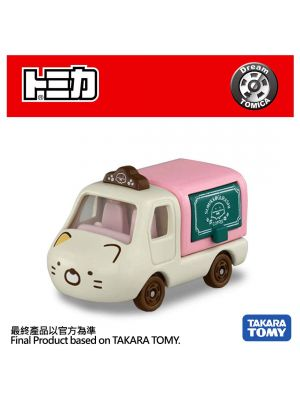 Dream Tomica Diecast Model Car - SP Sumikko Gurashi Cat Cafe Wagon