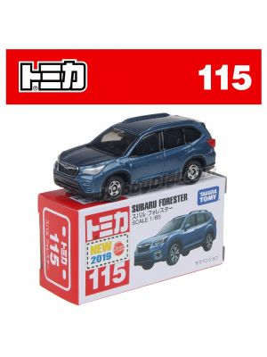 [2019新車貼] Tomica 合金車 No115 - Subaru Forester