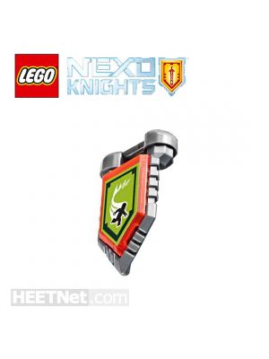LEGO 散裝配件 Nexo Knights: Arron Scannable Shield 101 Powers of Super Human Speed w Holder