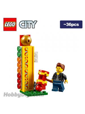 LEGO Loose Decoration and Minifigure City: High striker