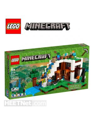 LEGO Minecraft 21134: The Waterfall Base