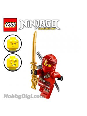 LEGO 散裝人仔 Ninjago: Kai with silver-colored katana and gold-colored katana
