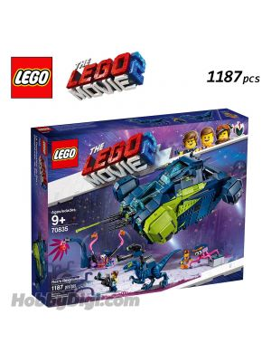 LEGO the LEGO Movie 2 70835: Rex's Rexplorer!