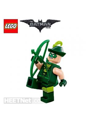 LEGO Loose Minifigure The Batman Movie: Green Arrow in LBM