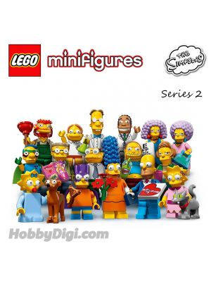 LEGO Minifigures 71009: The Simpsons Series 2 (一套16隻)