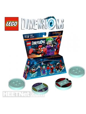 LEGO Loose Dimensions 71229: DC Comics Team Pack (Game Discs ONLY)