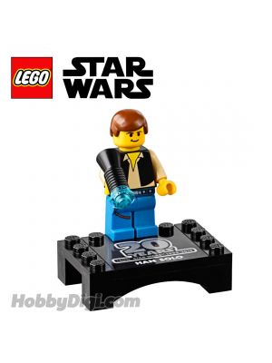 LEGO 散裝人仔 Star Wars: Han Solo (20th Anniversary) with Display Stand
