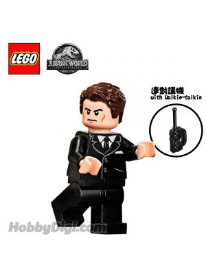 LEGO Loose Minifigure Jurassic World: Eli Mills with Walkie-talkie