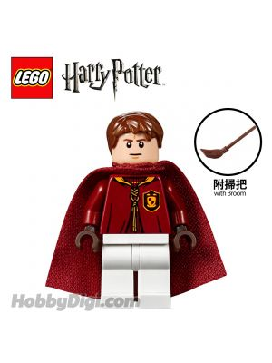 LEGO Loose Minifigure Harry Potter: Oliver Wood with Bloom
