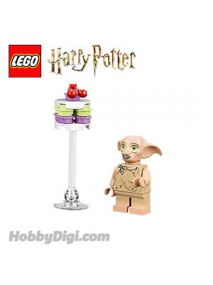 LEGO Loose Minifigure Harry Potter : Dobby with food