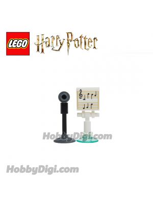 LEGO Loose Accessories Harry Potter : Music Stand and Microphone