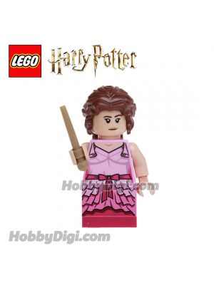LEGO Loose Minifigure Harry Potter : Hermione with Pink Dress