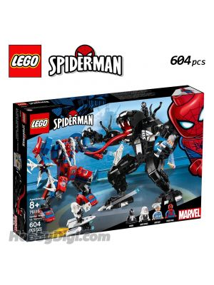 LEGO Marvel Superheroes 76115: Spider Mech vs. Venom