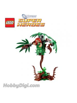 LEGO Loose Decoration and Minifigure DC Comics Super Heroes : Poison Ivy with Cockpit