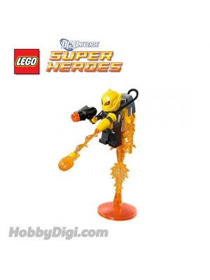 LEGO Loose Minifigure DC Comics Super Heroes : Firefly with Stud Shooter Weapon