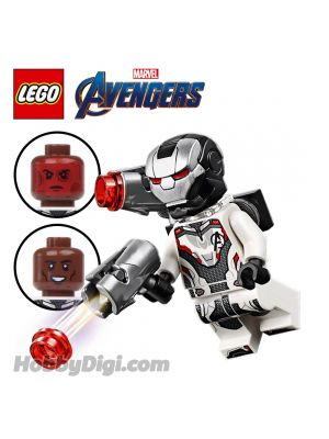 LEGO 散裝人仔 Marvel: War Machine with Avengers Team Suit
