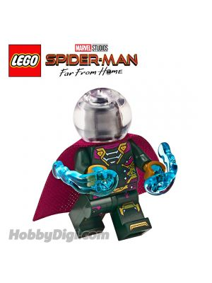 LEGO Loose Minifigure Marvel: Mysterio with Power Energy
