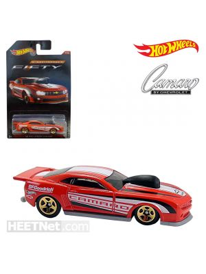 Hot Wheels Camaro 50th Anniversary 合金車 - 2010 Pro Stock CAMARO Red