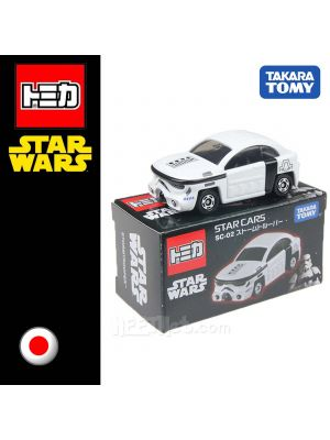 Tomica Star Wars 系列合金車 SC-02 - Star Cars Storm Trooper