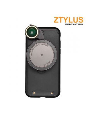 Ztylus Revolver Camera Kit: iPhone 7+ with RV-3 4 in1 Lens Black