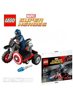 LEGO Polybag 30447: Captain Americas Motorcycle