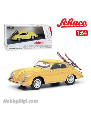 Schuco 1:64 合金車 - Porsche 356 WINTER HOLID
