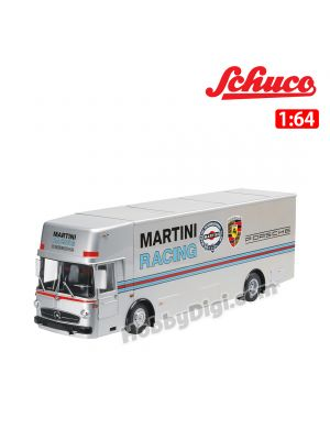 Schuco 1:64 合金車 - Race Car Transporter MARTINI