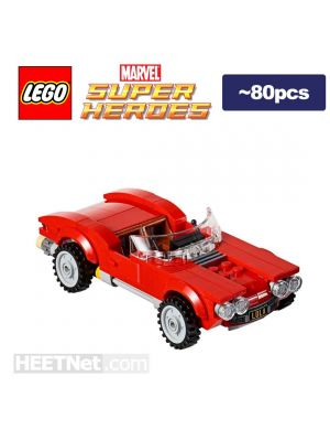 LEGO Loose Machine Marvel: Agent Coulsons car Lola