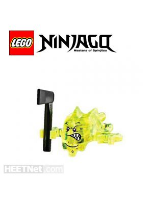 LEGO Loose Minifigure Ninjago: Angry Skreemer with Axe