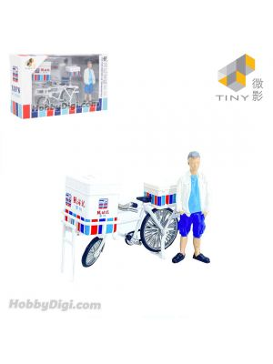 Tiny City 1:35 Diecast Model Car - Yan Chim Kee Ice Cream bicycle