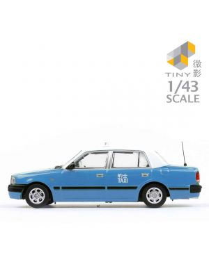 Tiny Hobby 1:43 Diecast Model Car - Toyota Crown Comfort Lantau Island Taxi 5-seat