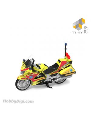 Tiny City Diecast Model Car 90 - Honda ST1300P HKFSD EMAMC (Yellow)