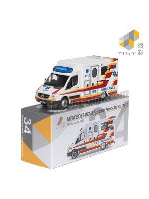 Tiny City Diecast Model Car 34 - Mercedes-Benz Sprinter Ambulance A512