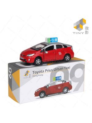 Tiny City Diecast Model Car 09 - Toyota Prius Town Taxi