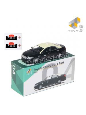 Tiny City Diecast Model Car MC4 - Toyota Camry 2011 Macau Taxi