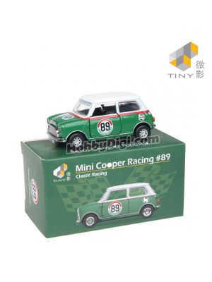 Tiny City Diecast Model Car - Mini Cooper Racing #89
