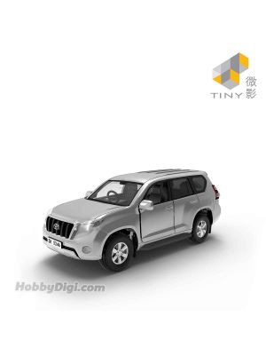 Tiny City 1:64 Diecast Model Car 102 - Toyota Prado (Silver)