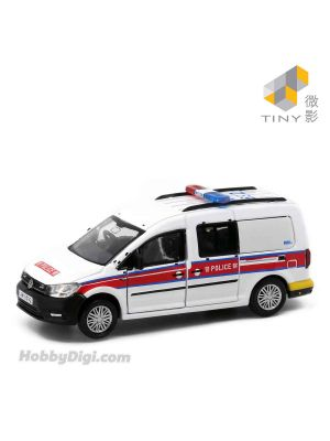Tiny City 1:64 Diecast Model Car 80 - Volkswagen Caddy Police