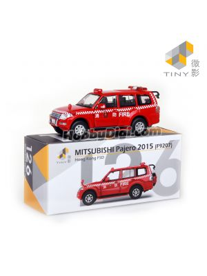 Tiny City 1:64 Diecast Model Car 126 - Mitsubishi Pajero 2015 FSD (F9207)